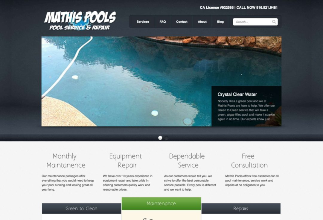 Mathis Pools
